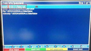 Dreambox şifre sıfırlama